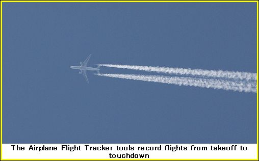 airplane flight tracker 01