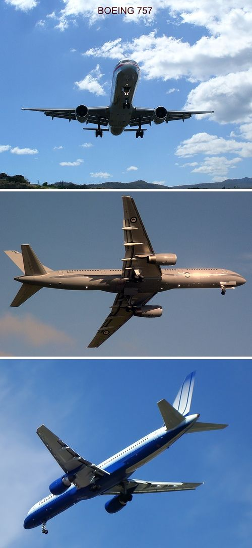 airplane photos boeing 757