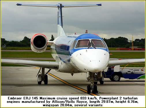 embraer 145 airplane photos