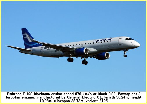 embraer 190 airplane photos