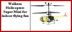 walkera helicopters super mini