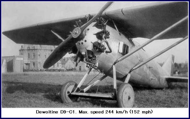 airplane photos dewoitine d9 c1