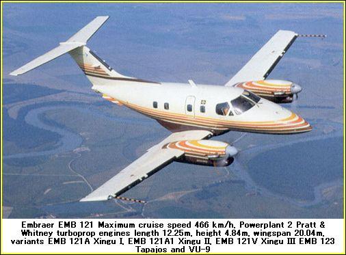 embraer 121 airplane photos